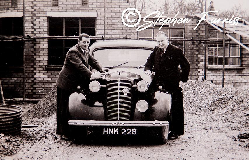 Vauxhall 12hp 1940's