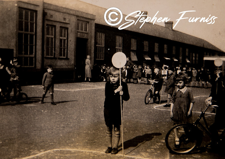 Teaching Road Sense 1930's