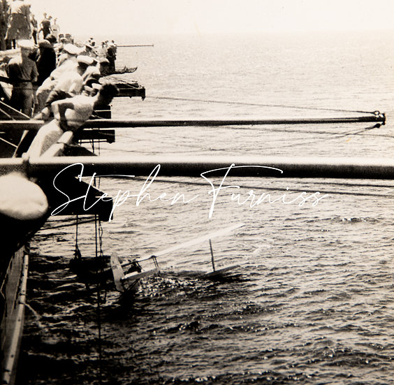Overshot Aircraft Carrier 1930's