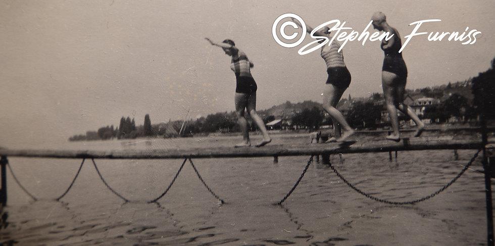 Intrepid Bathers 1920's