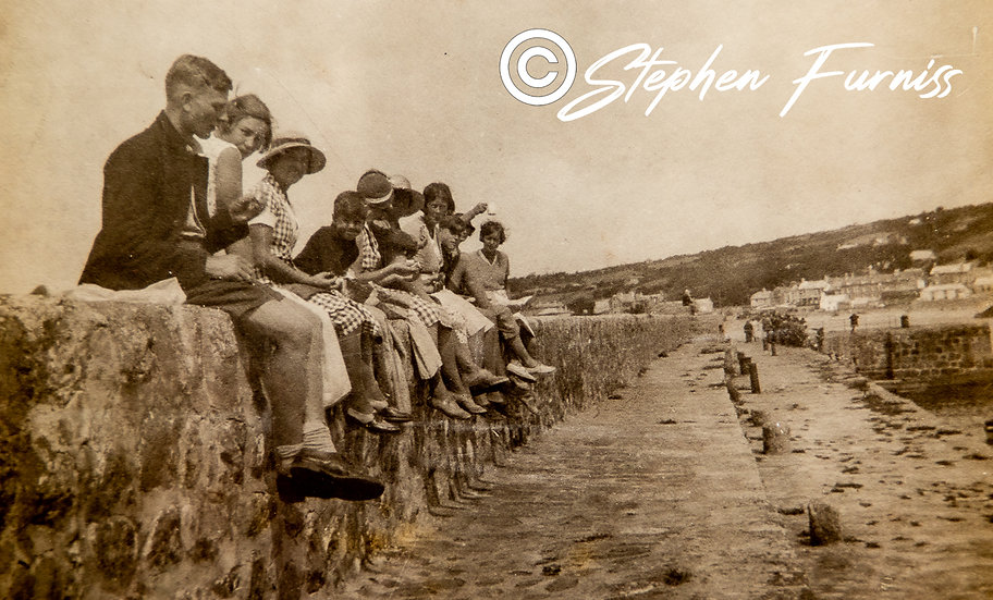 On the Sea Wall 1930's