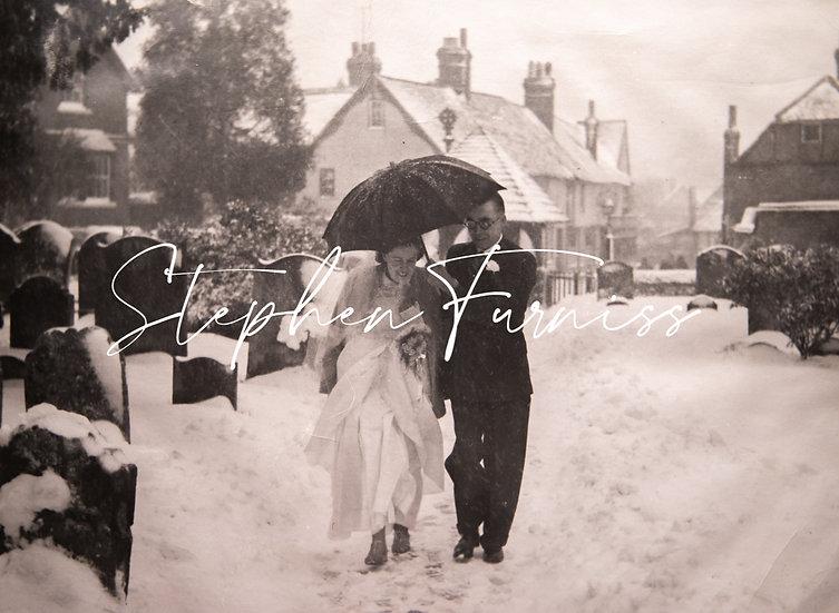 Winter Wedding Shene Surrey