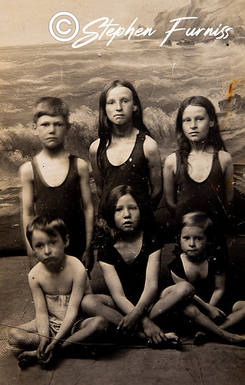 Young Bathers Hove Sussex 1916