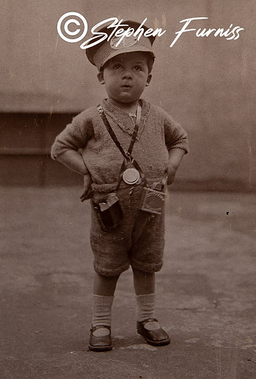 Young Bus Conductor WWI