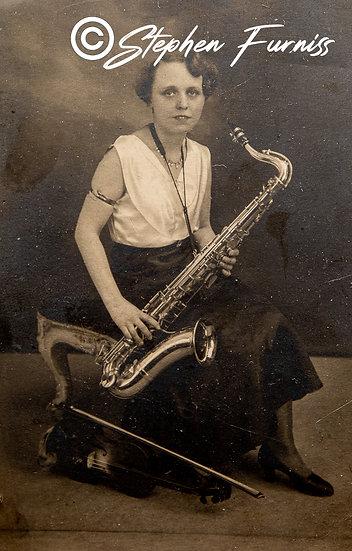 The Saxophonist 1930's