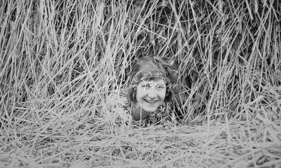 Young Girl in the Hay 1920's