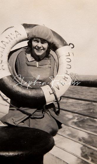 SS Aquitania 1920's