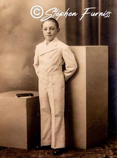 French Confirmation Portrait 1930's