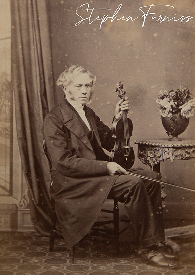 The Violinist 1870's