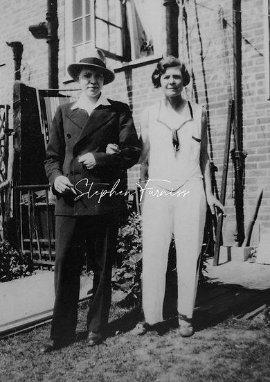 Cross Dressing Couple 1930's
