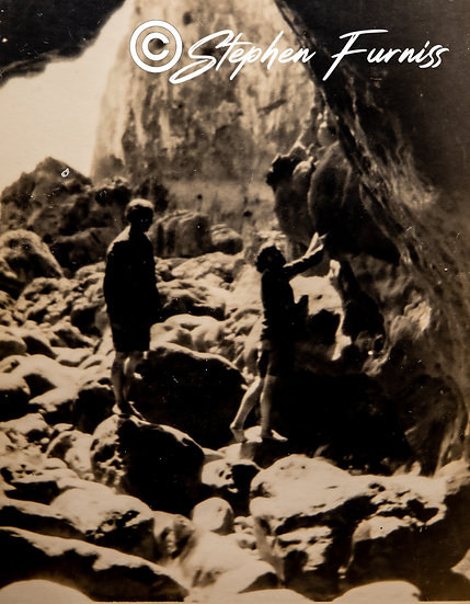The Smugglers Cave 1930's