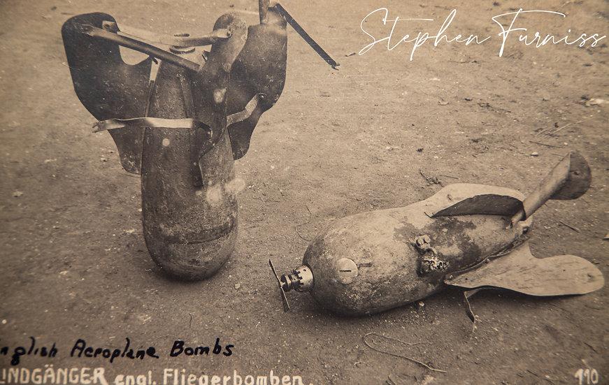 English Aeroplane Bombs WWI