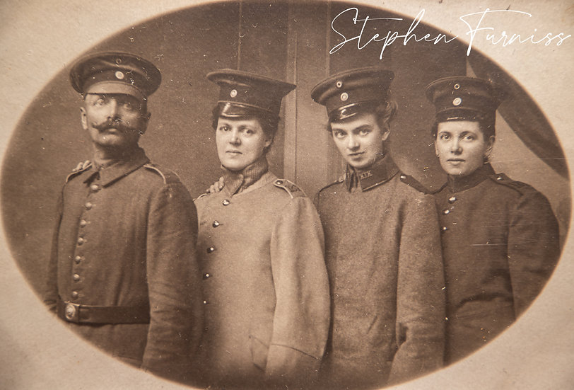 Patriotic German Family WWI
