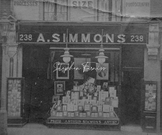 Camera Shop Front 1898