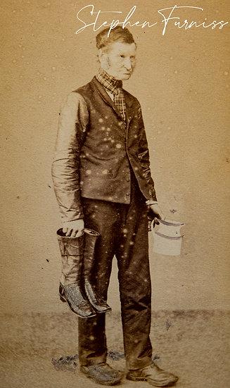 """""""The Golden Lion"""" Ipswich 1876"""