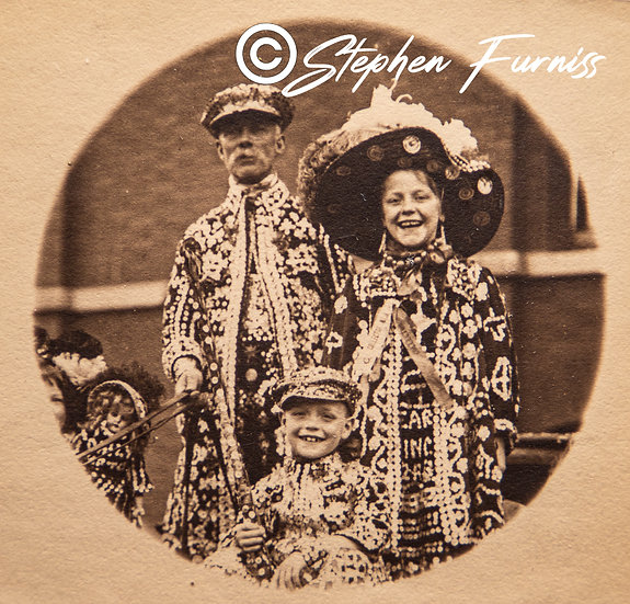 Pearly Family Olympia Horse Show c.1910
