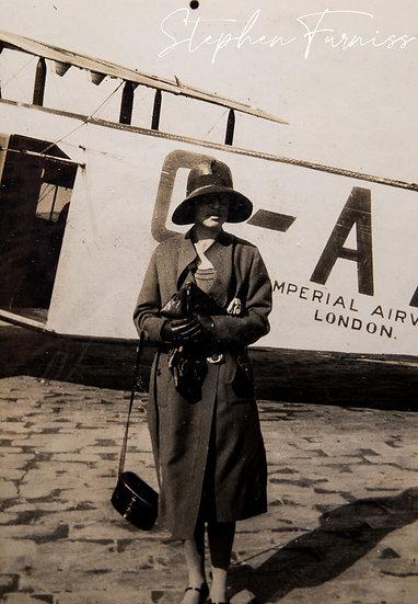 Imperial Airways Passenger 1920's
