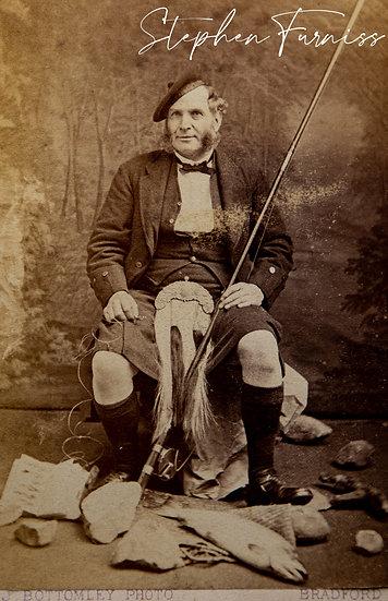 Highland Salmon Fisherman 1870's