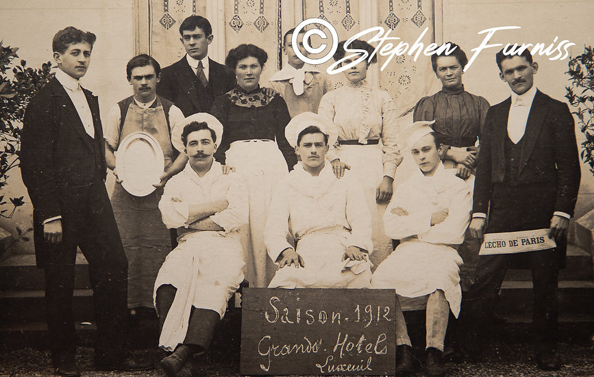 Swiss Hotel Staff 1912 Season