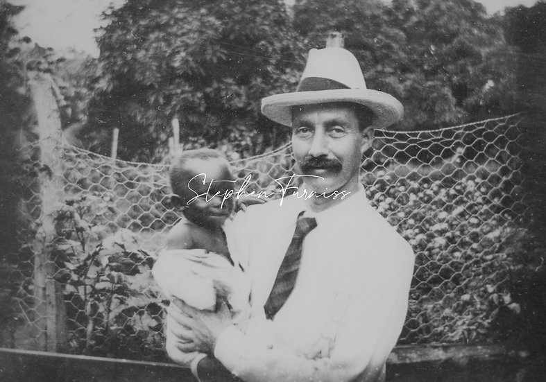 Man with Child 1910