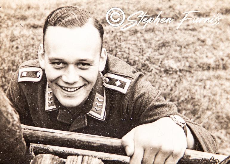 German Soldier WWII Portrait