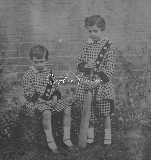 Young Lads playing 1860