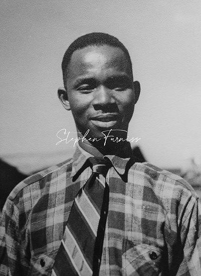 African Man 1940's
