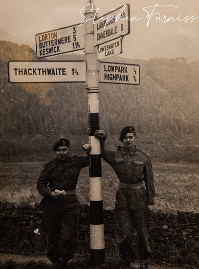 Orienteering in the Lake District 1950's