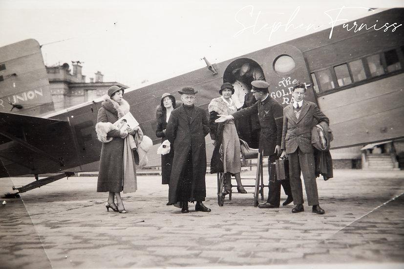 Air Passengers 26th Sept 1932