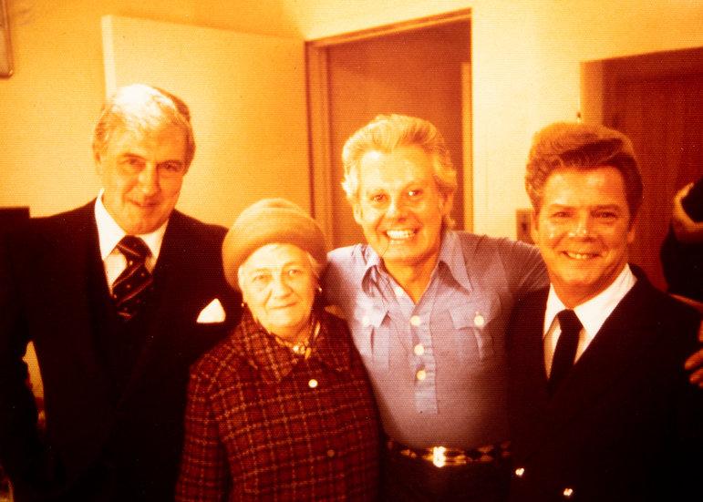 Danny La Rue and Fans 1976