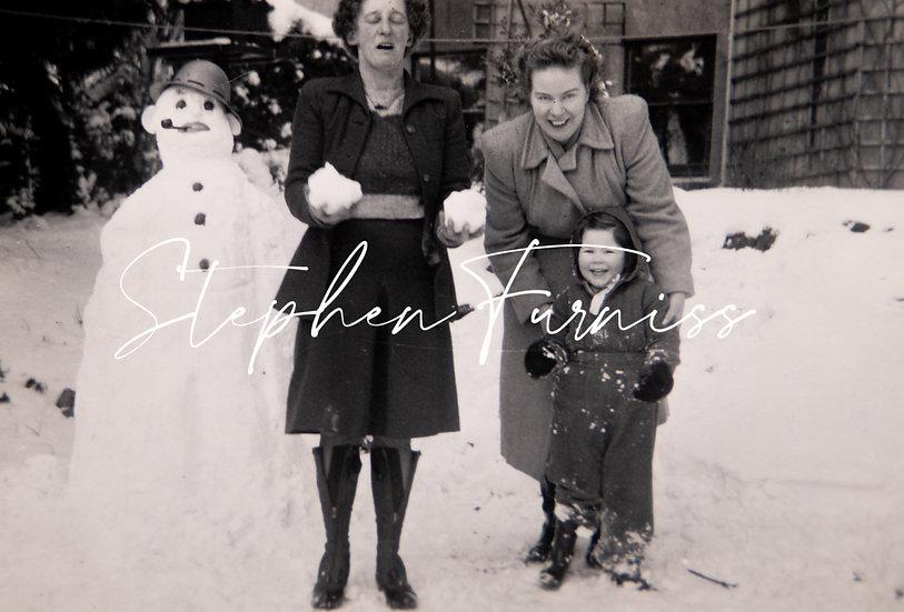 Dora, Penny and Peggy Feb 1947