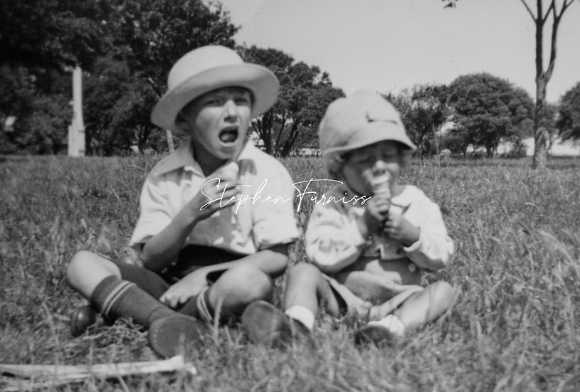 Children in the Park 1930's