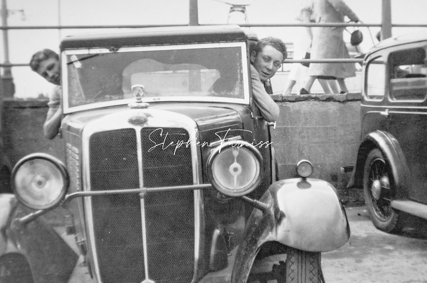 Young Motorist 1930's