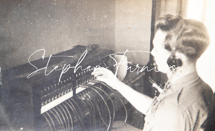 At the Switchboard 1940's
