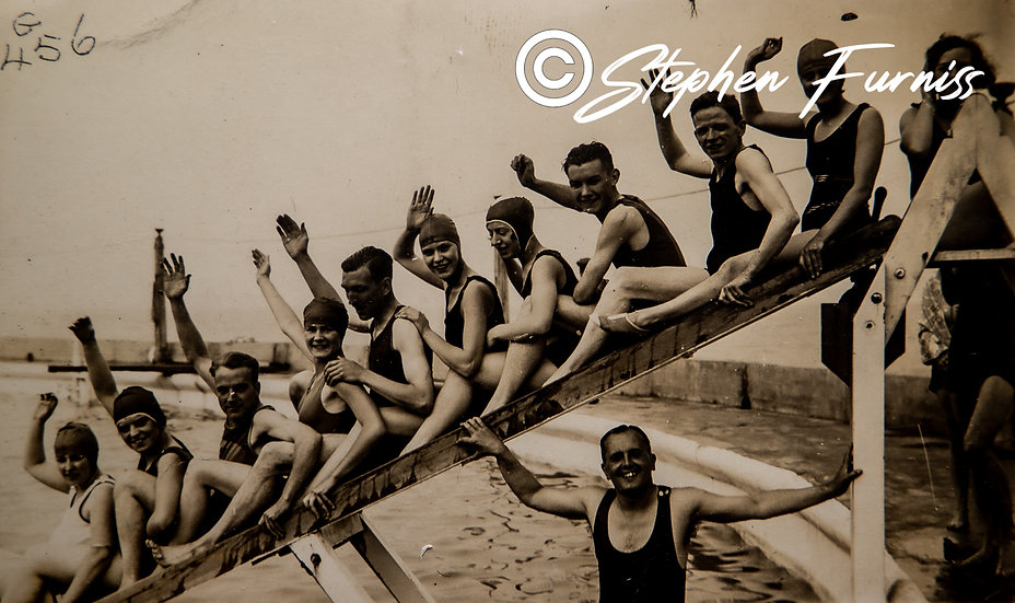 At the Lido Margate 1930's