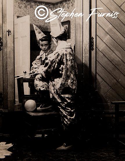 Reflected Pierrot 1905