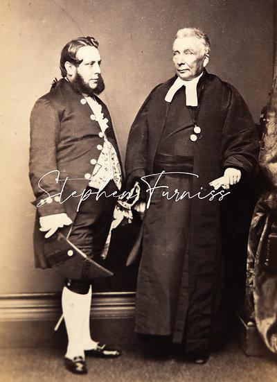 Dignitaries 1865 by Mayall of London