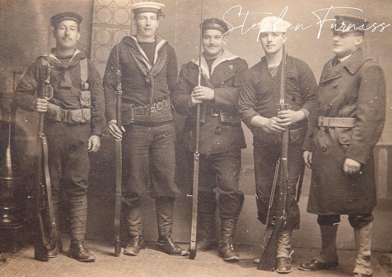 Allies Patrol Dalmatia April 1919