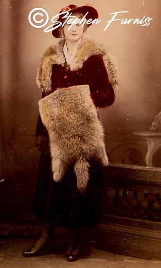 Fur Collar 1930's