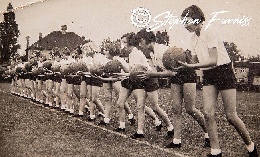 Netball Girls 1930's