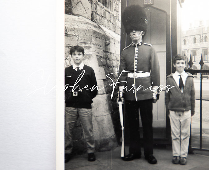 At Attention! Windsor Castle 1960's