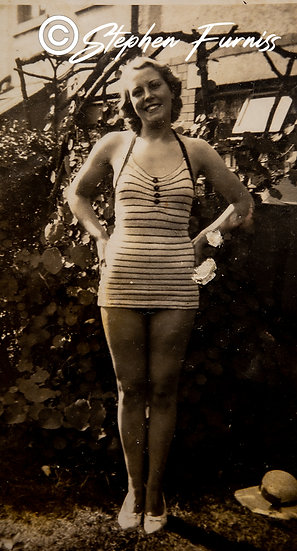The Striped Bathing Costume 1930's