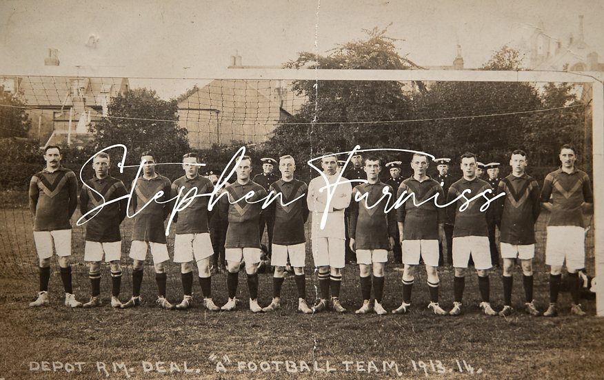 Royal Marines Football Team 1913