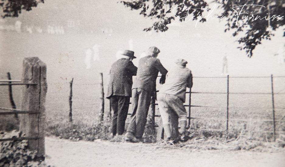 Village Cricket Match 1930's