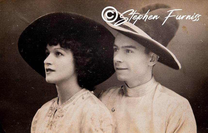 Wide Brim Hats 1920