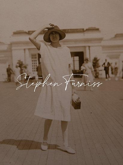 Drop Waist Dress and Box Camera 1920