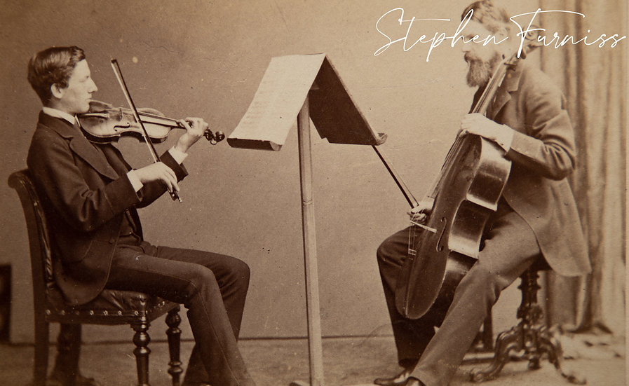 James Wells and Charley Kern 1873