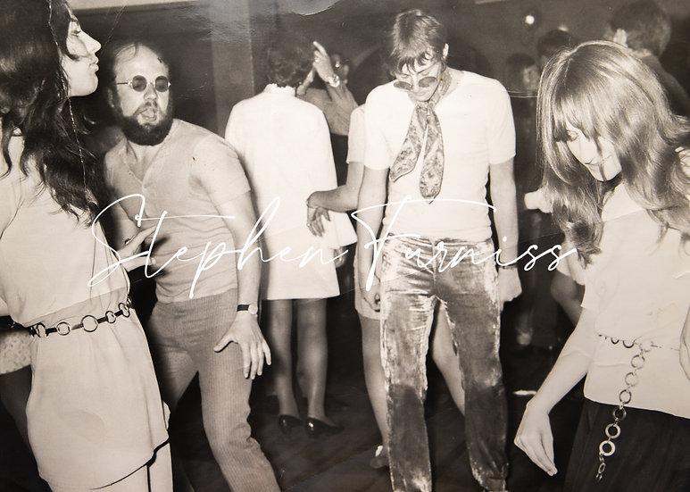 Crushed Velvet Pants 1970's