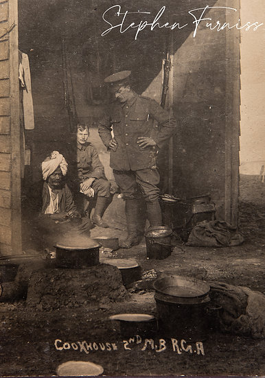 Army Cookhouse 1920's