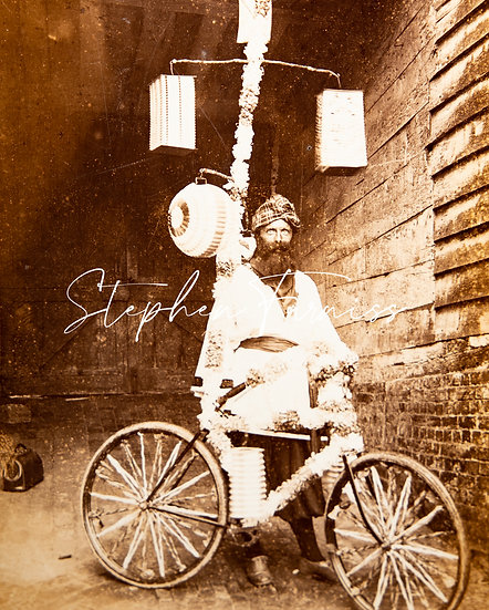 Decorated Lantern Bicycle 1890